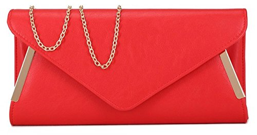Altro, Damen Clutch Pink Pinky Nude S Rot