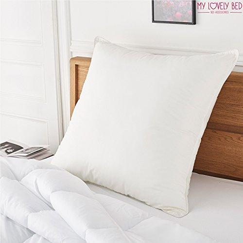 My Lovely Bed - Oreiller Percale 100% Coton - Doux et Gonflant - Confort Moelleux - Anti acariens - Haut de Gamm