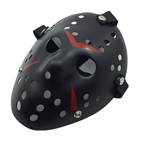akiter Jason Mask Für Anonyme Versammlungen Protestieren Musikfestivals Cosplay-Maskerade Halloween Kostüm Für Kinder Erwachsene Frauen Mädchen Alter Mann Jungs