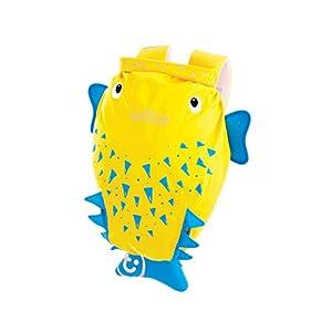 Trunki PaddlePak – Mochila infantil impermeable para piscina y gimnasio, Amarillo, 37 x 29 x 17 cm