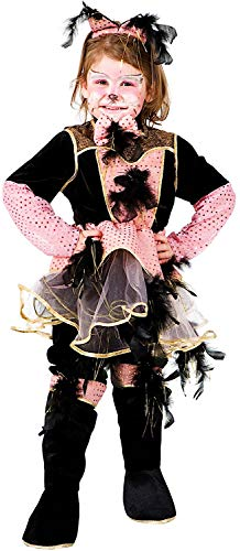 Kostüm Carnevale Gatto - Carnevale Venizano CAV6127-3 - Kinderkostüm GATTA Baby - Alter: 1-6 Jahre - Größe: 3