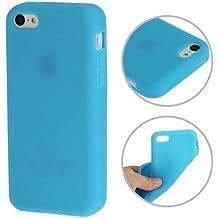 "'Iphone 5C Premium Funda/Case/Cover en Azul de Silicona/TPU en ""1de color de Style–Original de TheSmartGuard"