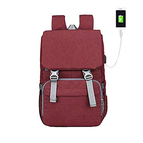 22e691c71d20 Arteki Capacity Nappy Changing Backpack Diaper Bag Travel Backpack Large  Capacity Waterproof Mummy Backpack with USB