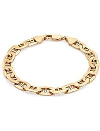 Carissima Gold 9 ct 2 Colour Gold Rambo Bracelet