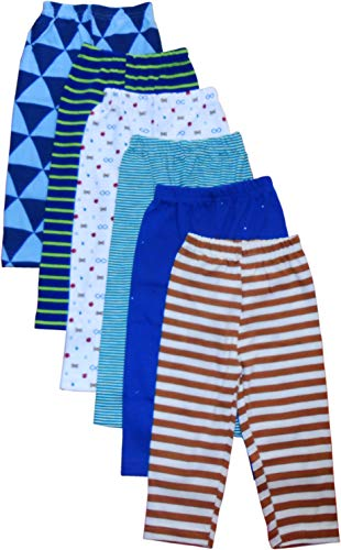 NammaBaby Printed Full Length Pajama/Pyjamas For Baby Boys And Baby Girls- Set Of 6 (18-24 Months)