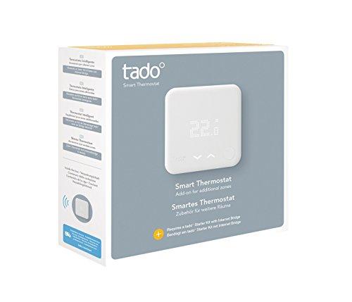 tado° Termostato Inteligente (producto adicional) - control inteligente de la...