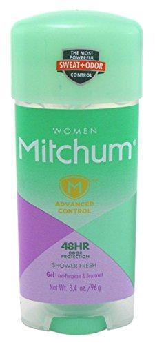 Lady Mitchum Clear Gel Anti Perspirant & Deodorant Shower Fresh - 3.4 oz
