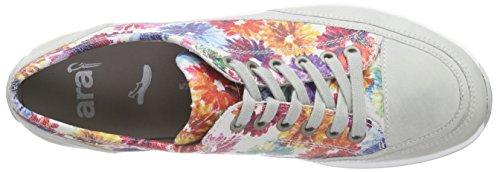 Ara - Hampton, Scarpe stringate Donna Multicolore (Mehrfarbig (offwhite,multi 50))