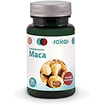 Sakai Maca, Complemento alimenticio a base de extracto estandarizado de Maca, 90 Comprimidos
