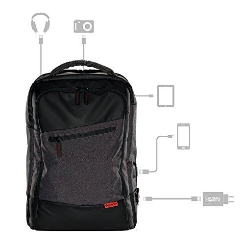 Geneeo Genius Pack Platinum Power Pack für Männer und Frauen, für Notebooks und Laptops bis zu 15,6