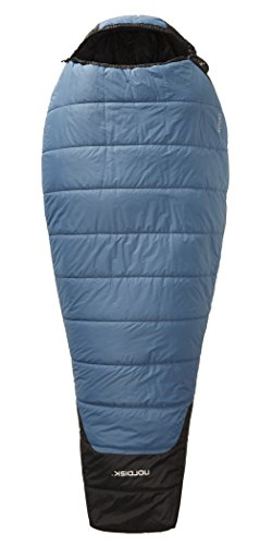 Nordisk Canute -2° Sleeping Bag M real teal/black 2016 Mumienschlafsack