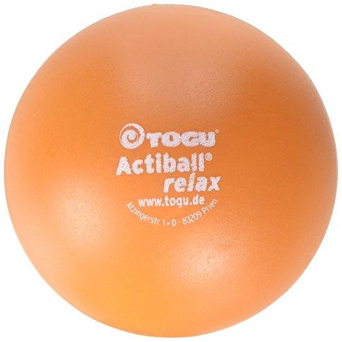 Togu Actiball Relax Faszienmassageball, Orange, L, 12 cm Durchmesser