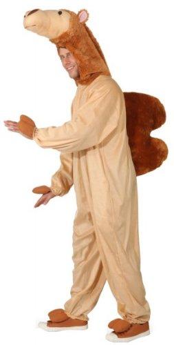 Kamel Kostüm - Kostüm Kamel Overall Einheitsgröße Fasching  Dromedar Unisex