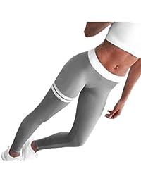 a2d6c4e53 Logobeing Mallas Deporte Mujer Leggins Ropa Deportiva de Mujer Mujeres  Flacas Pantalones de Yoga Leggings Ropa de Gimnasia de Fitness…