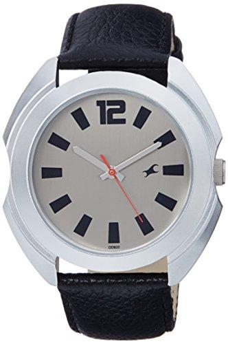 41AmGDsW84L - 3117SL02 Fastrack Casual Grey Mens watch