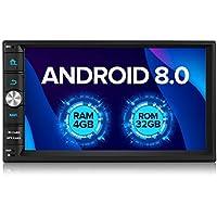 Auto Radio zeepin Android 8,0 4 GB Moniceiver 2 DIN Universal con navegación.