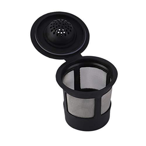 Yichener Mehrwegbecher für Keurig Solo Filter Pod K-Cup Kaffee Edelstahl Mesh
