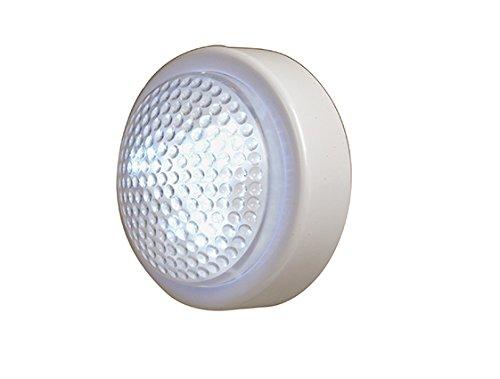 Velamp IL05LED Push Light Tondo, 3 LED, Bianco
