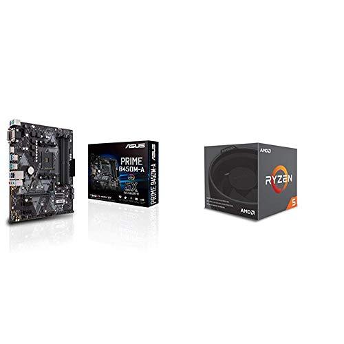 Pack placa base Asus procesador AMD - ASUS PRIME B450M-A