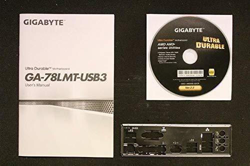 Gigabyte GA-78LMT-USB3 Handbuch - Blende - Treiber CD