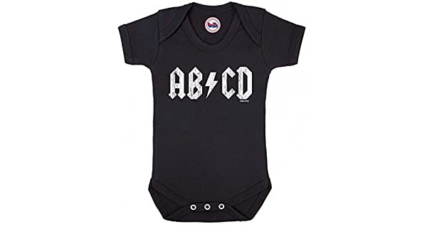 Funny Rock Music Style Babygrow for Boy Girl Novelty Gilet Baby Clothes