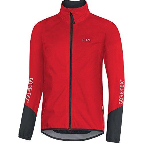 Gore Wear Herren C5 Tex Active Jacke, Red/Black, L
