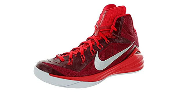 size 40 9179b 76a3a NIKE Hyperdunk 2014 TB Mens Basketball Shoes 653483-606 Team Red University  Red-White-Metallic Silver 10. 5 M US  Amazon.in  Shoes   Handbags