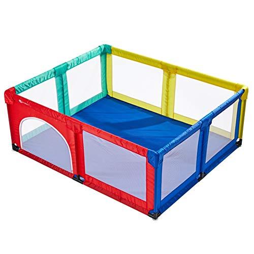 Laufstall Tragbarer Multicolor Babykinder, Sicherheits-Spielplatz, Indoor Indoor