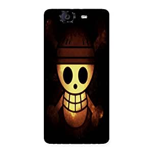 Ashro G Ghost Back Case Cover for Canvas Knight A350