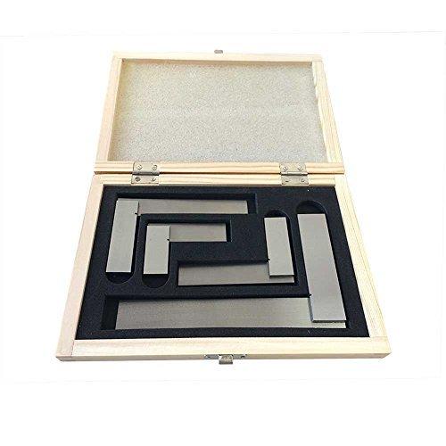 Precision Steel Square Set (Kaufhof ASS-5535 Precision Steel Squares Set 4 Piece by Kaufhof)