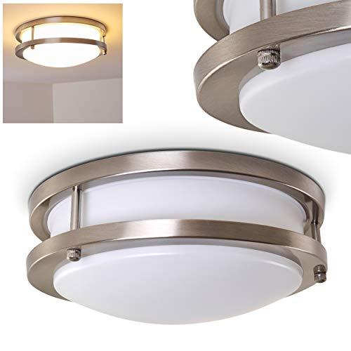 Bad Deckenlampe mit LED-Lampen für Badezimmer oder andere Räume wie Flure und Wohnzimmer - Deckenspot aus Metall in modernem Design der Energieklasse A++