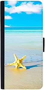 Snoogg Summer Beach Designer Protective Phone Flip Case Cover For Xolo One Hd