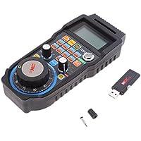 MagiDeal USB sin Hilos Mach3 MPG 433mhz Volante Digital 4axis para Máquina de Ranurador ...