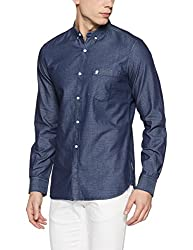 French Connection Mens Slim Fit Casual Shirt (52HKQ_Rep/M/1742_M)