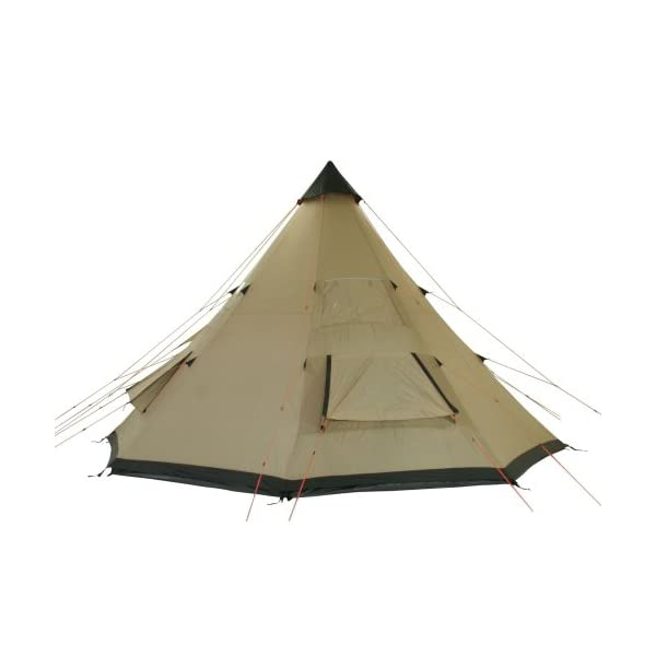 10T Outdoor Equipment Waterproof Shoshone 500 Unisex Outdoor Teepee Tent available in Beige  - 10 Persons 6