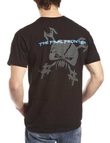 Unbekannt Herren T-Shirt Final Frontier Album Schwarz