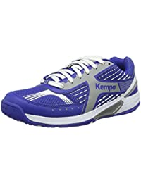 Kempa Fly High Wing Zapatillas, Unisex adulto, Azul royal / Plata, 9.5