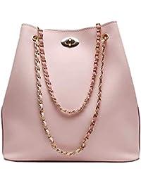 Envias Leatherette Handbags For Women's Ladies (ChainStrap_Peach_EVS-113)