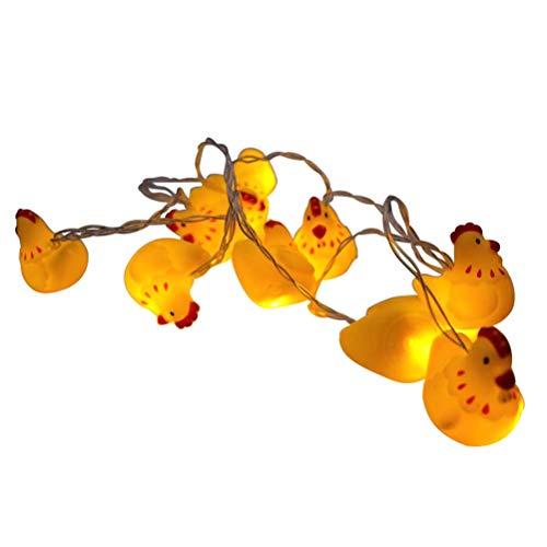 Osaladi 10 led 1.8m luce stringa domestica luce notturna mini batteria a pile luce decorativa per la decorazione di casa sala da pranzo senza batterie