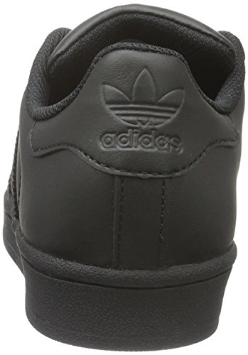 adidas Superstar, Scarpe da Basket Unisex – Adulto Nero (Cblack/Cblack/Cblack)