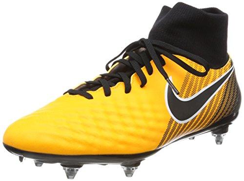 Nike Men's Magista Onda II Dynamic Fit Soft-Ground Football Boots, Orange (Laser Orange/Schwarz-Weiß-Volt-Weiß), 9 UK (44 EU) (Boote Nike Männer)