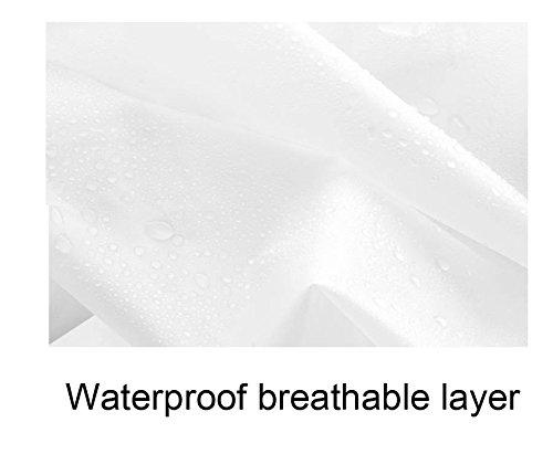 Cystyle wiederverwendbarer Regenponcho – Regenmantel für Erwachsene mit Ärmel und Aufbewahrungstasche für Regenschutz Rosa Lippen