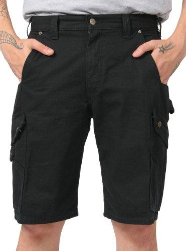 Carhartt Ripstop Work Shorts - Black Men's Rugged Workwear CS.B357.BLACK