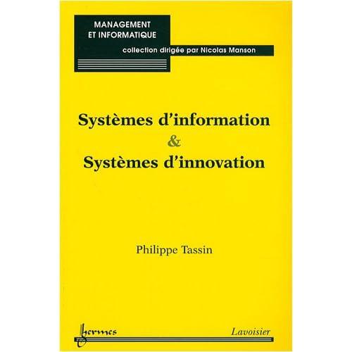 Systèmes d'information & systèmes d'innovation