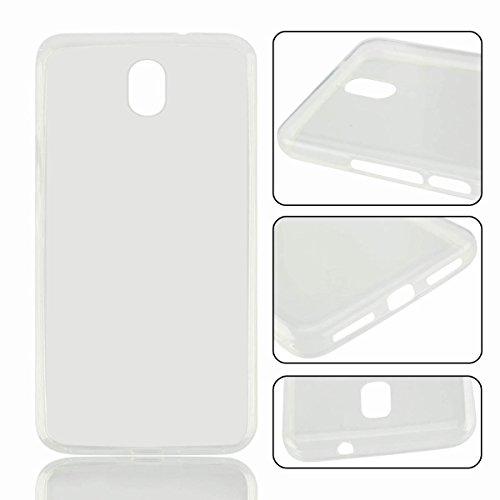 Owbb Hülle für Oukitel K6000 Plus Crystal Soft TPU Silikon Ultra Dünn Softcase Schutzhülle Bumper Case mit Kratzfeste Function Backcover Design - Transparent