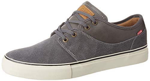 GLOBE Mahalo, Zapatillas de Skateboard para Hombre, Gris Dark Shadow/Antique White 15276, 43 EU