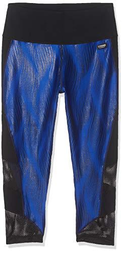 STRONG by Zumba 126 - Leggings da Donna a Vita Alta, Modellanti, con Compressione, Leggings, Z1B00683, Surfs Up Blue, XL