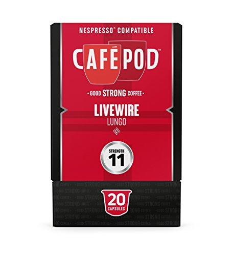 Get CaféPod Livewire Espresso Nespresso Compatible Capsules from Cafepod Ltd