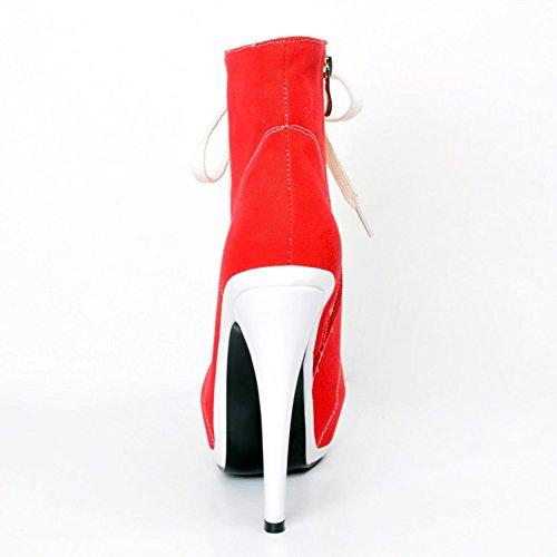 Kolnoo Damen Faschion 14.5cm Absatz Martin Aufladungen