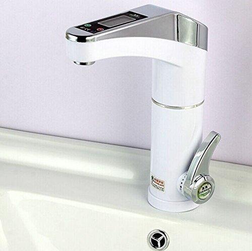 Intelligente LCD Elektroheizung Küchenarmatur sofort heißes Wasser Wasserhahn Durchlauferhitzer Intelligent LCD Electric Heater